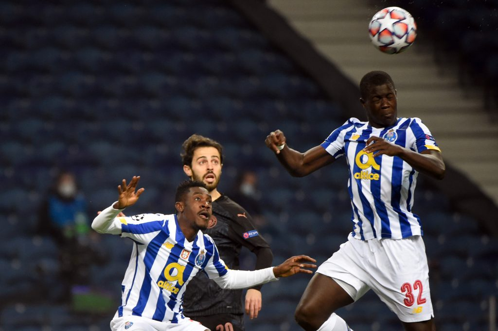 Malang Sarr was solid as Porto secured a point against Manchester City. (GETTY Images)