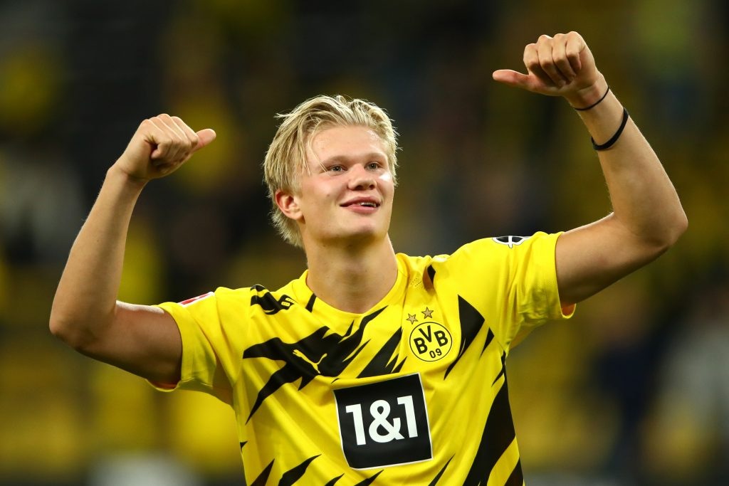 Erling Haaland is a transfer target for Chelsea. (GETTY Images)