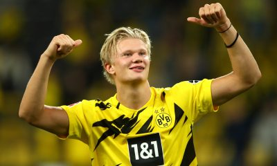 Erling Haaland is a transfer target for Chelsea and has impressed with his scoring stats in Germany. (GETTY Images)