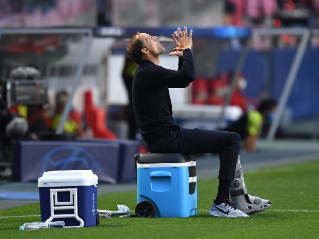 Chelsea manager Thomas Tuchel does not give his approval to the new book about him. (GETTY Images)