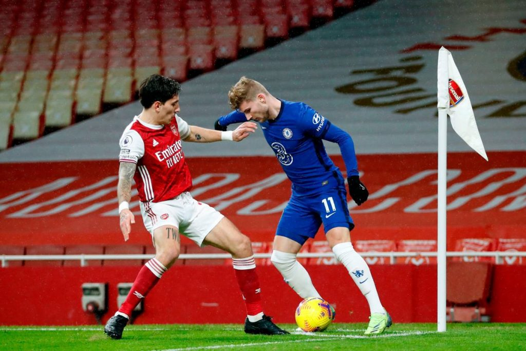 Ian Wright has told Chelsea striker Timo Werner has been told that perseverance is the key to him overcoming his recent struggles in front of goal.