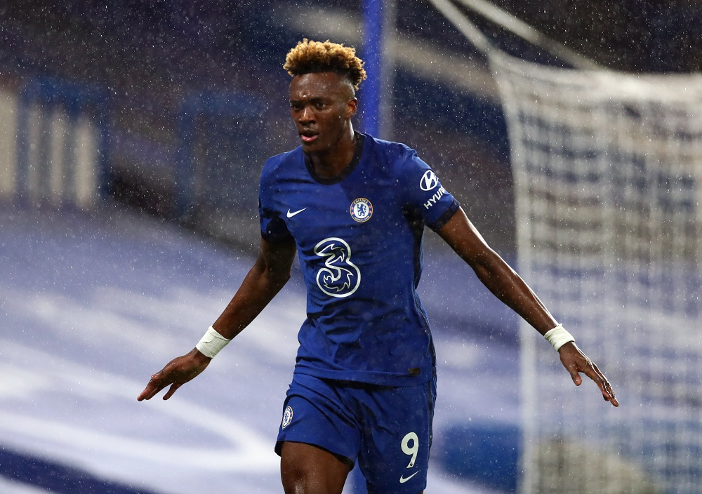 Chelsea striker Tammy Abraham in action. (GETTY Images)