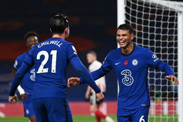 Chilwell (L) and Silva (R) were amongst the betetr players on the night