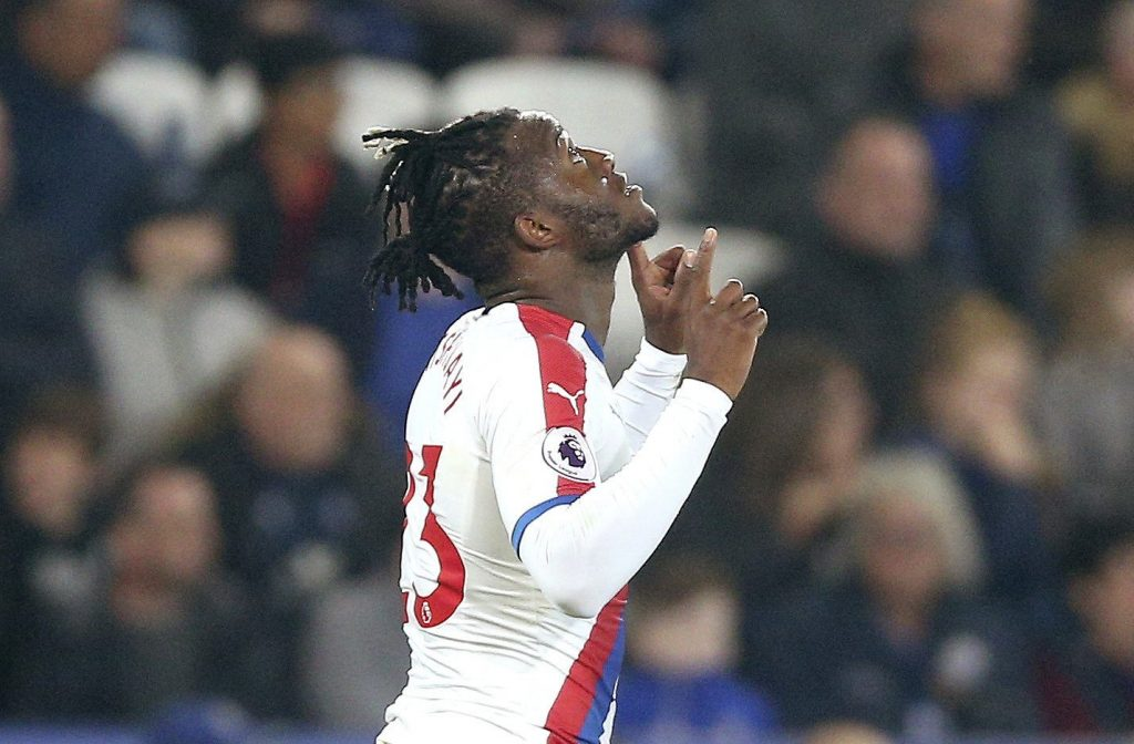 Chelsea loanee Michy Batshuayi involved in a training ground spat with Luka Milivojevic