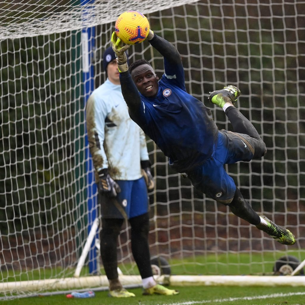 Edouard Mendy pulls off a stunning save