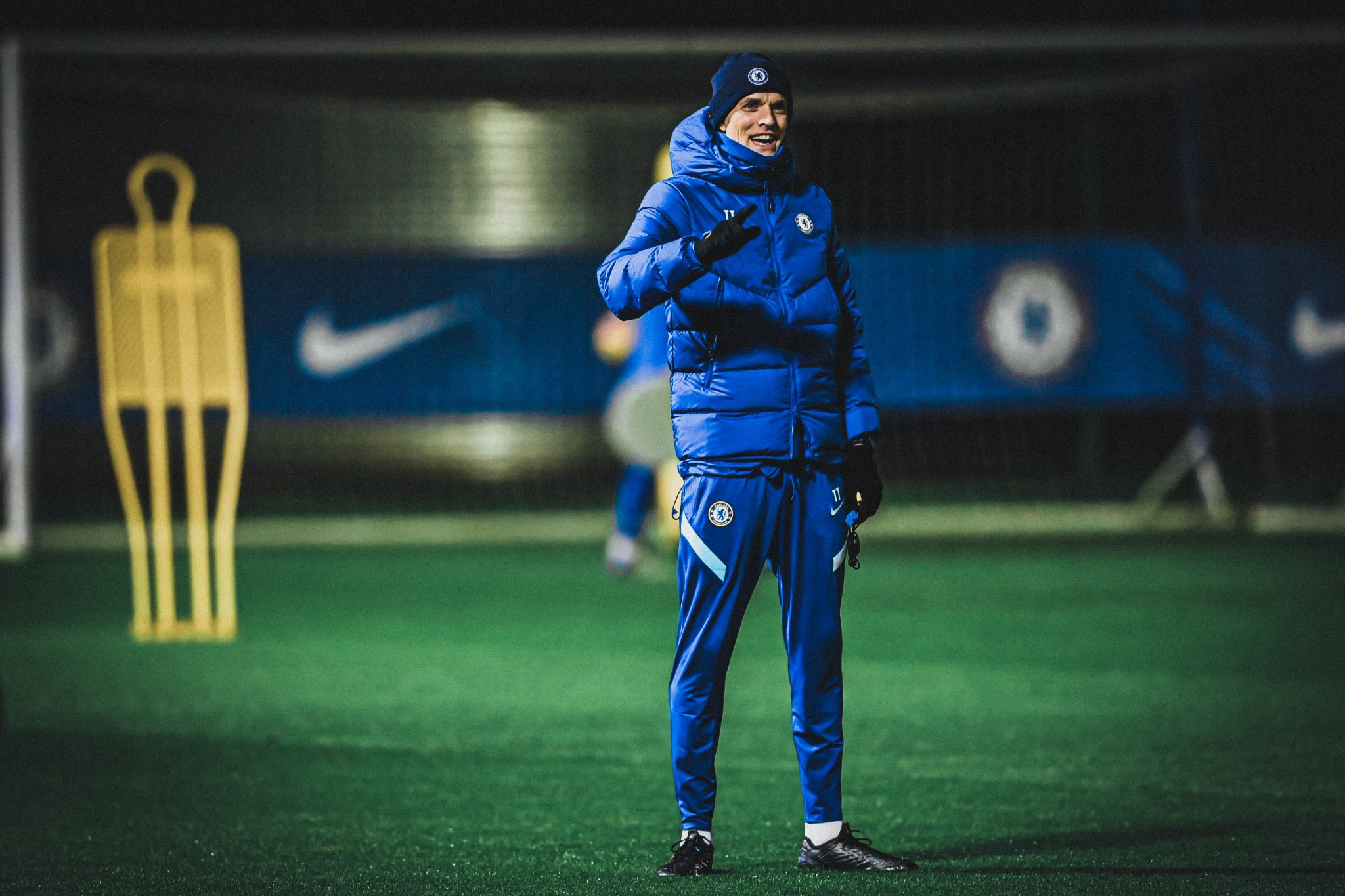 Thomas Tuchel is looking towards the future with Chelsea