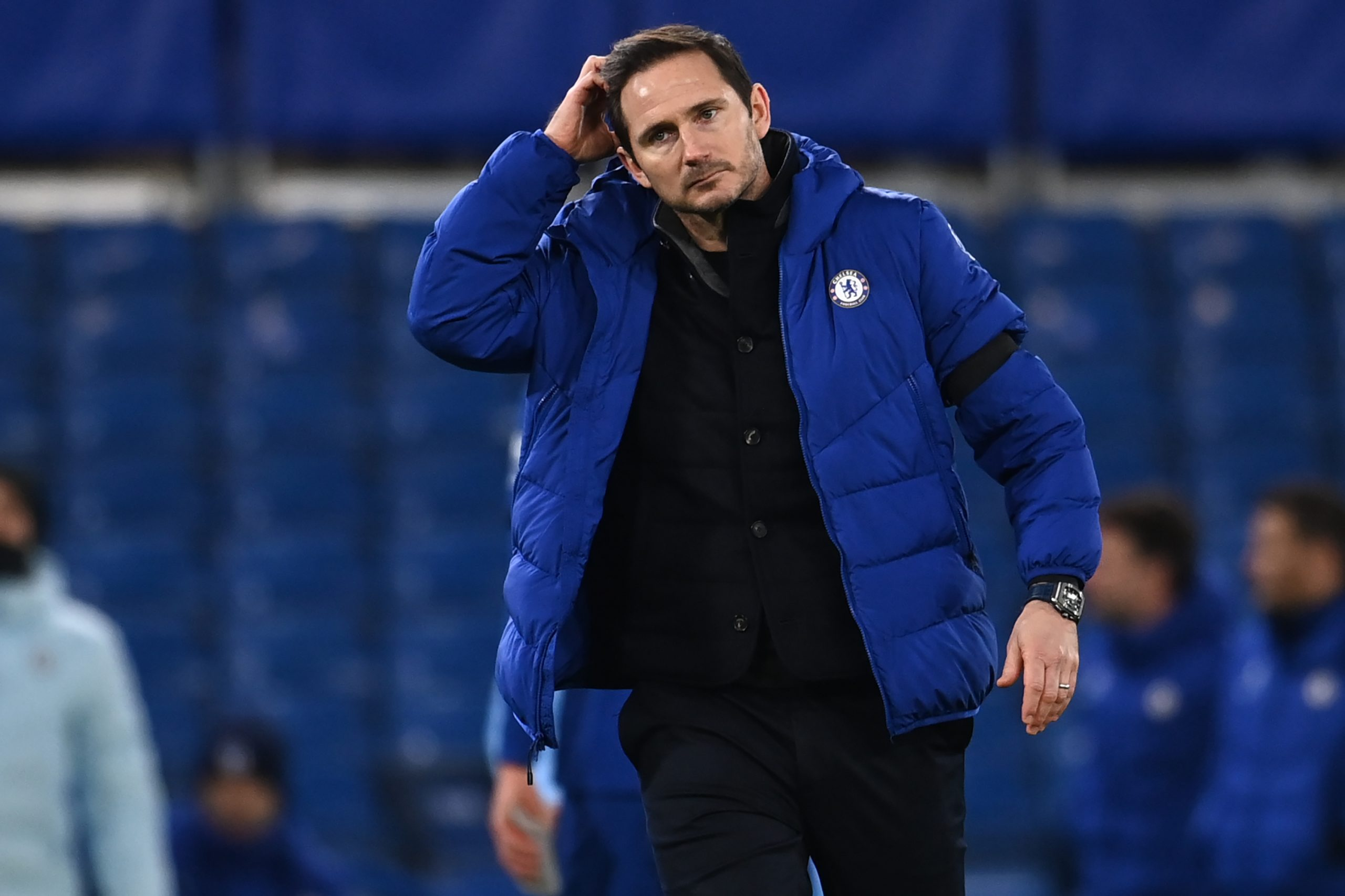 Frank Lampard has jumped to the defence of the players as pressure mounts on them to monitor goal celebrations amid Covid-19 regulations. (GETTY Images)