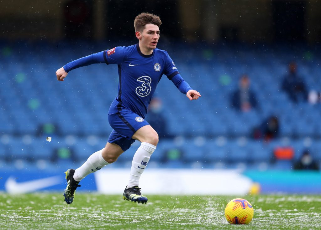 Billy Gilmour in action for Chelsea. (GETTY Images)