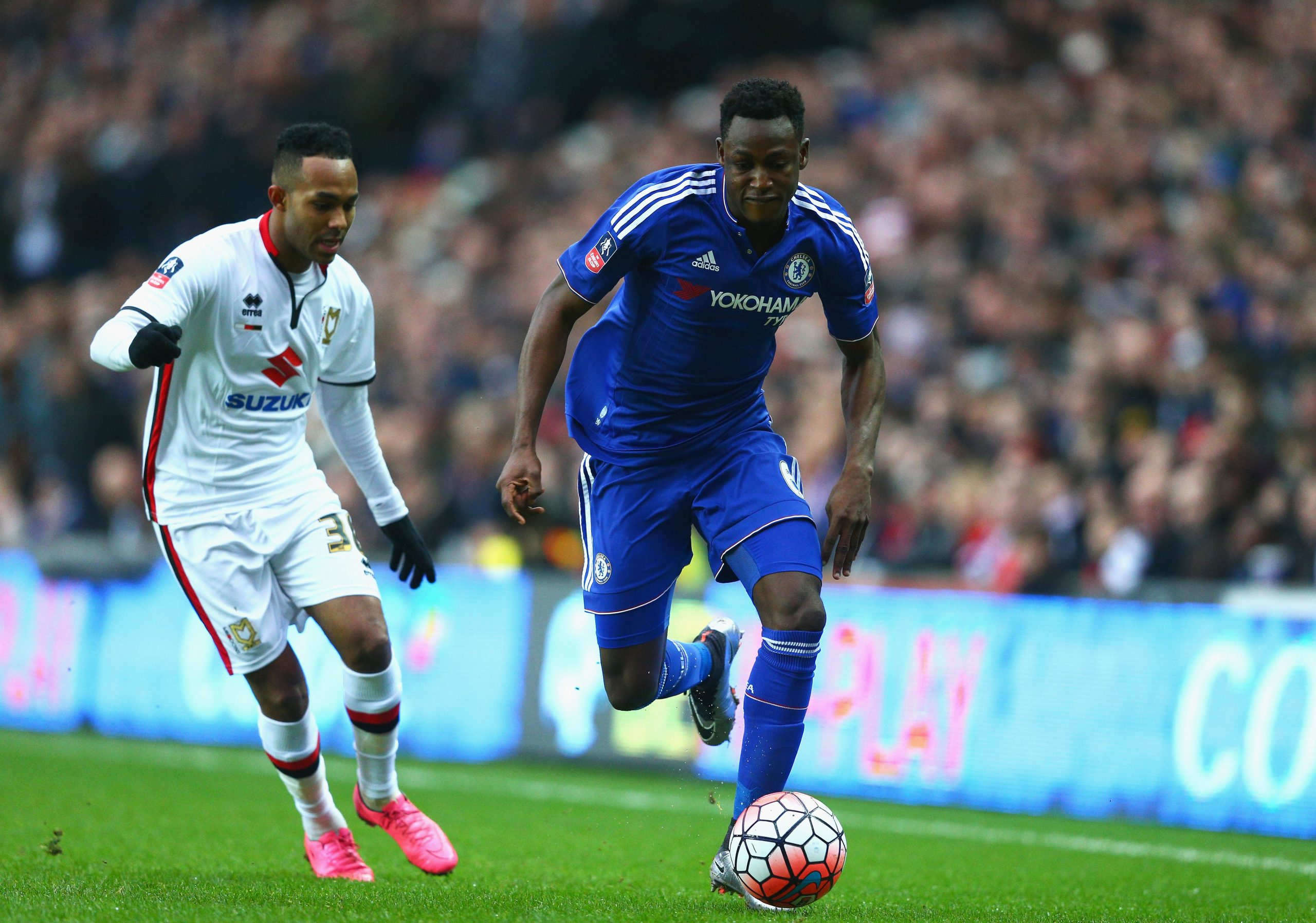 Baba Rahman could be on his way out of Chelsea in January. (GETTY Images)