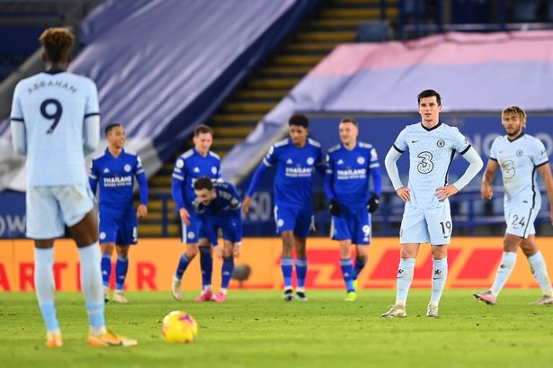 Chelsea lost 2-0 to Leicester at the King Power Stadium (GETTY Images)