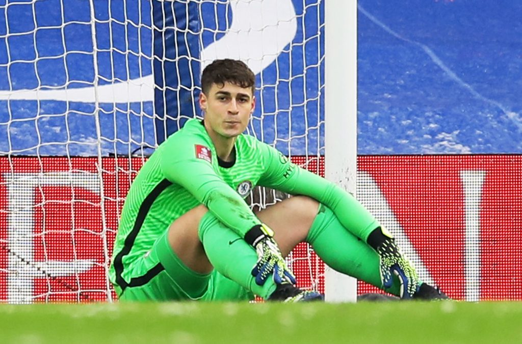 Chelsea star Kepa Arrizabalaga made yet another howler, this time against Luton Town