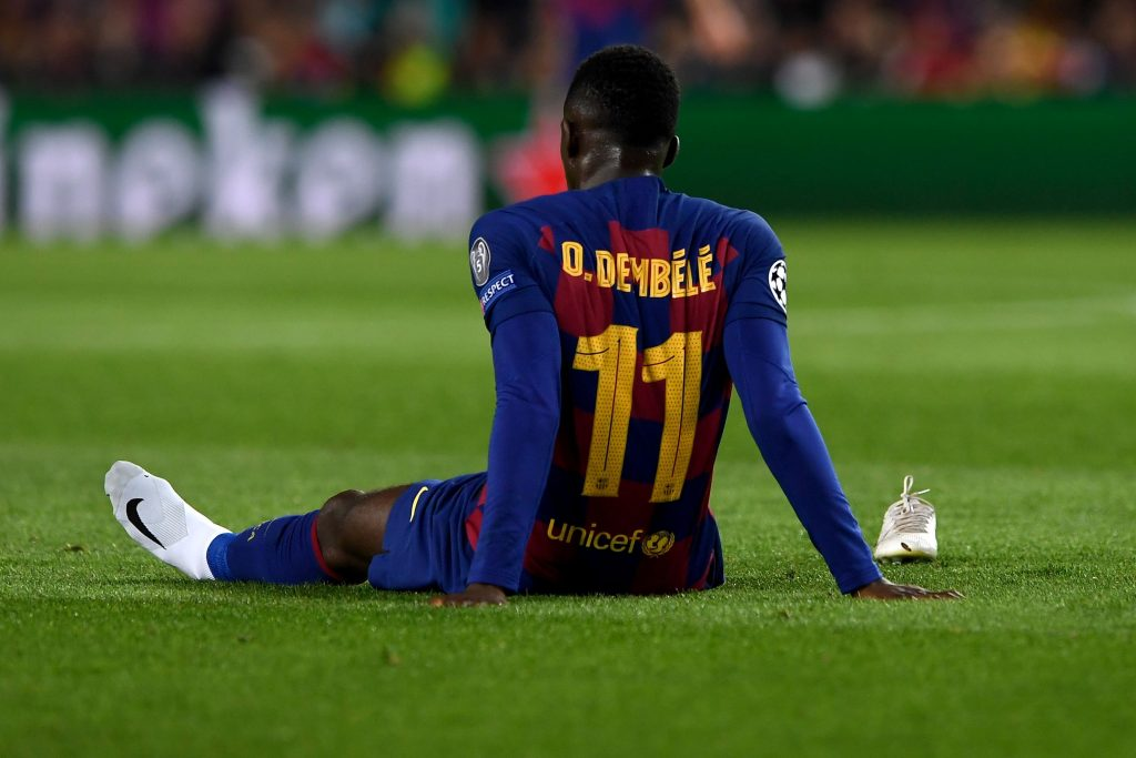 Chelsea and Manchester United are set to battle it out for Ousmane Dembele