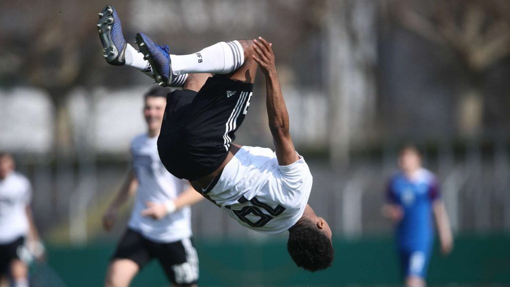 Karim Adeyemi scored for Germany in World Cup qualifiers.