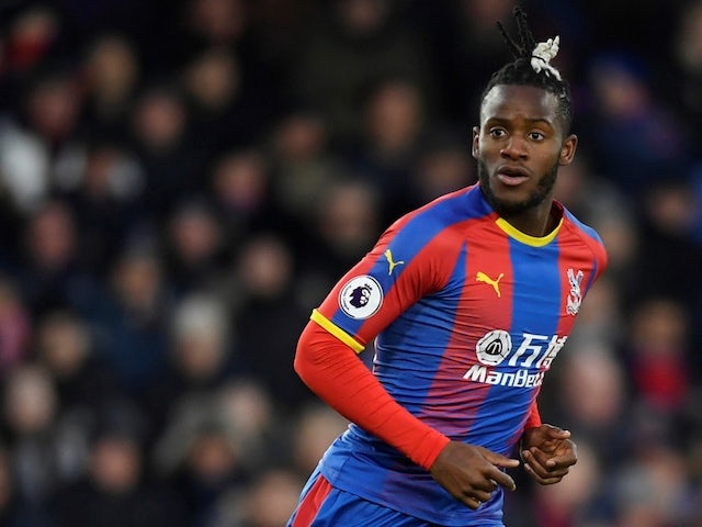 Michy Batshuayi is on a season long loan at Crystal Palace
