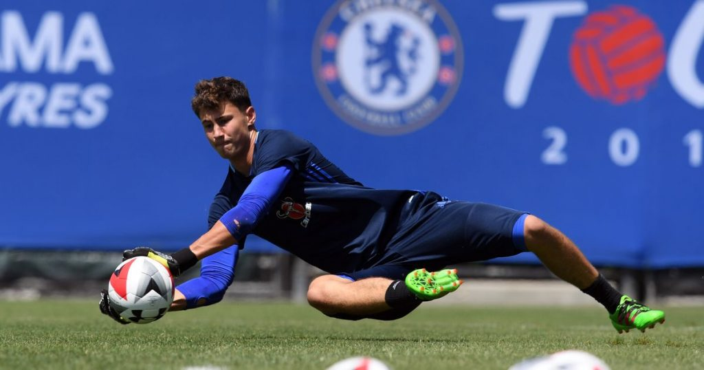 Nathan Baxter is a product of the Chelsea youth academy