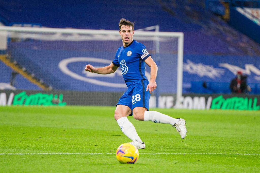 Chelsea skipper Cesar Azpilicueta believes referee Anthony Taylor should have checked Kylian Mbappe's Nations League winner himself