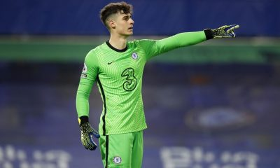 Kepa Arrizabalaga kept a clean sheet against Newcastle