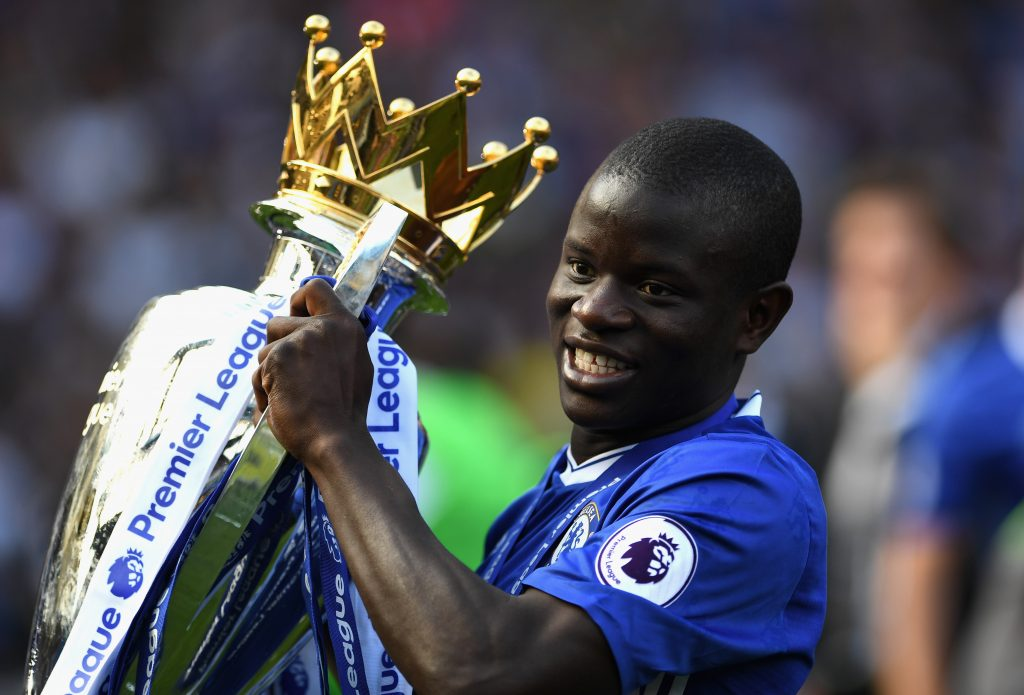 N'Golo Kante at Chelsea. (GETTY Images)