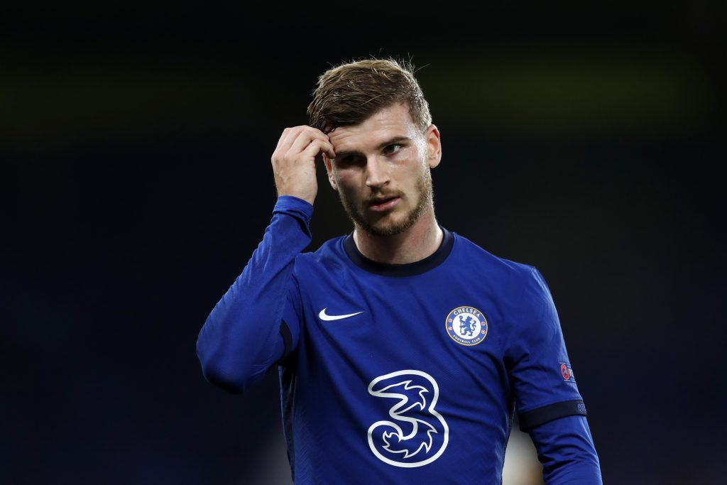 Timo Werner has the trust of his Chelsea manager, Thomas Tuchel. (GETTY Images)