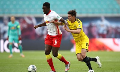 Ibrahima Konate is now on Chelsea's radar but the Blues could face competition from Liverpool and Manchester United. (GETTY Images)