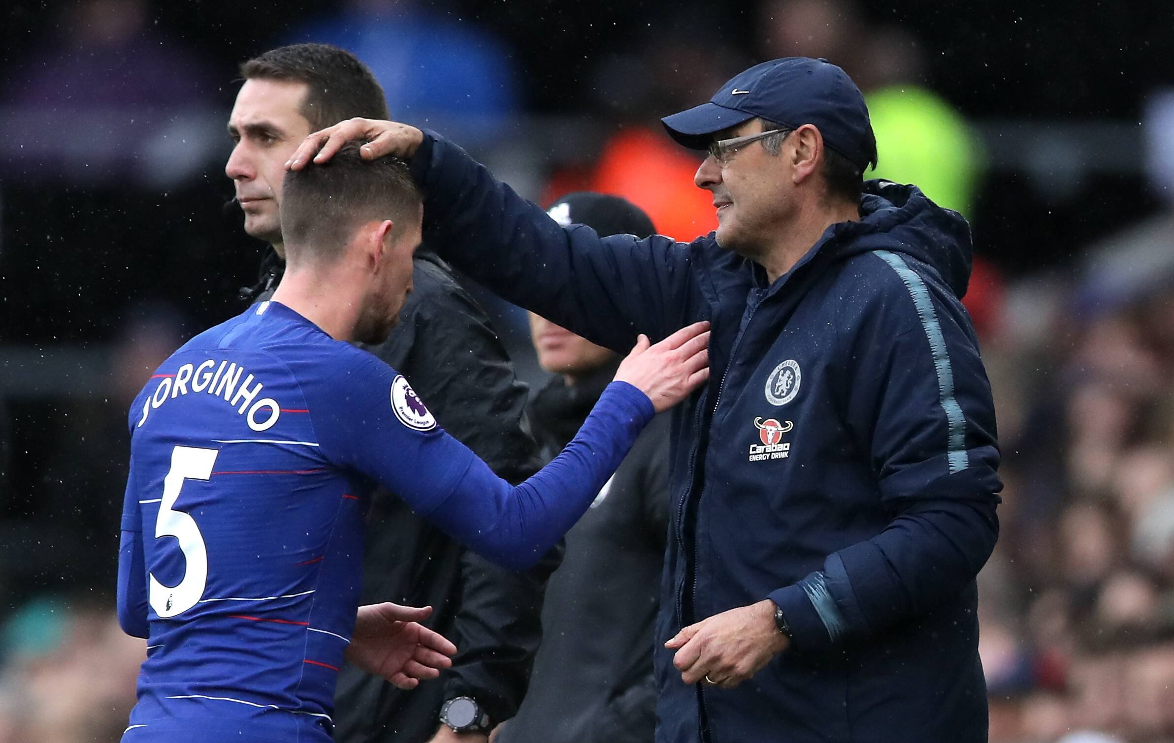 Maurizio Sarri signed Jorginho from Napoli when he joined Chelsea in the summer of 2018. (GETTY Images)