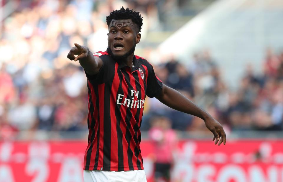 Kessie could leave Milan on a free transfer next summer.