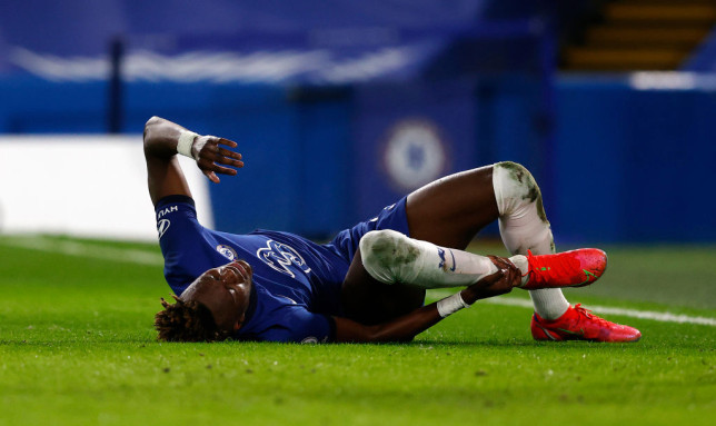 Chelsea manager Thomas Tuchel is worried that striker Tammy Abraham is set for a spell on the sidelines.