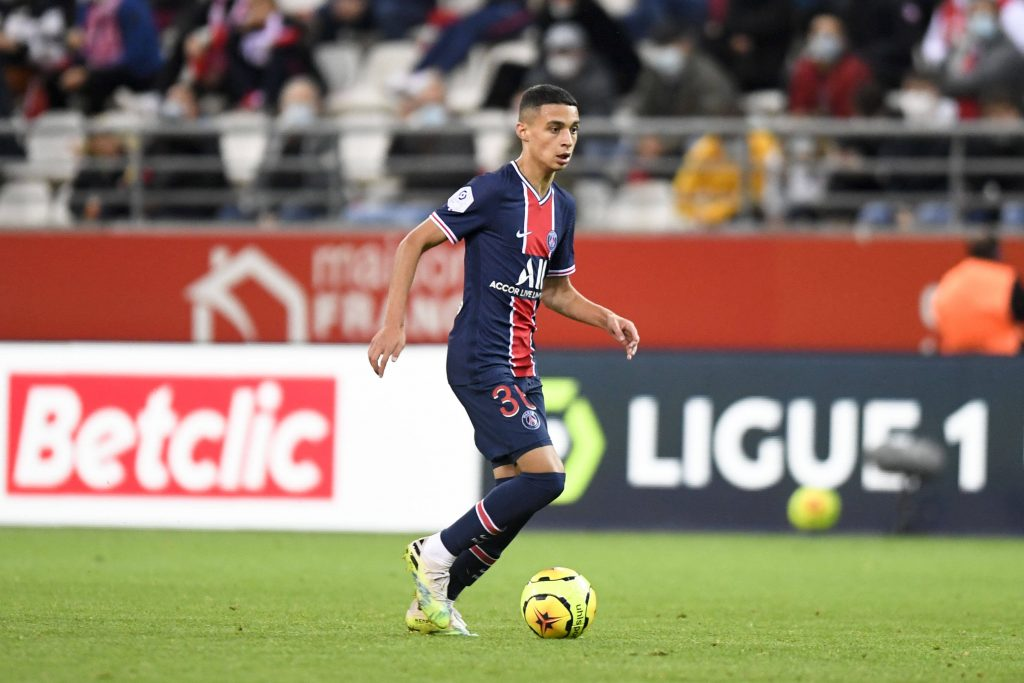 Kays Ruiz-Atil in action for PSG. (imago Images)
