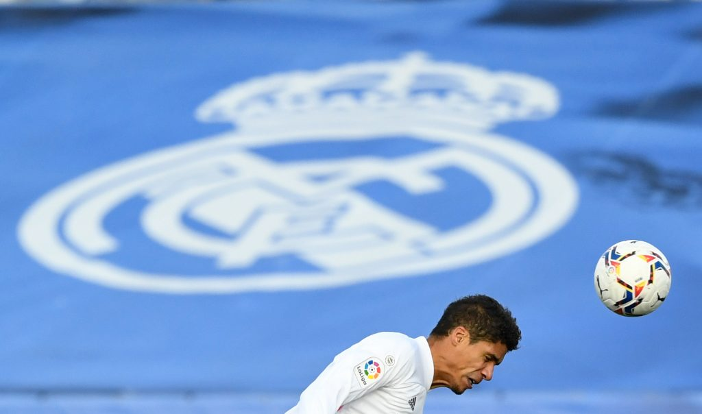 Raphael Varane of Real Madrid is a transfer target for Chelsea and Manchester United.