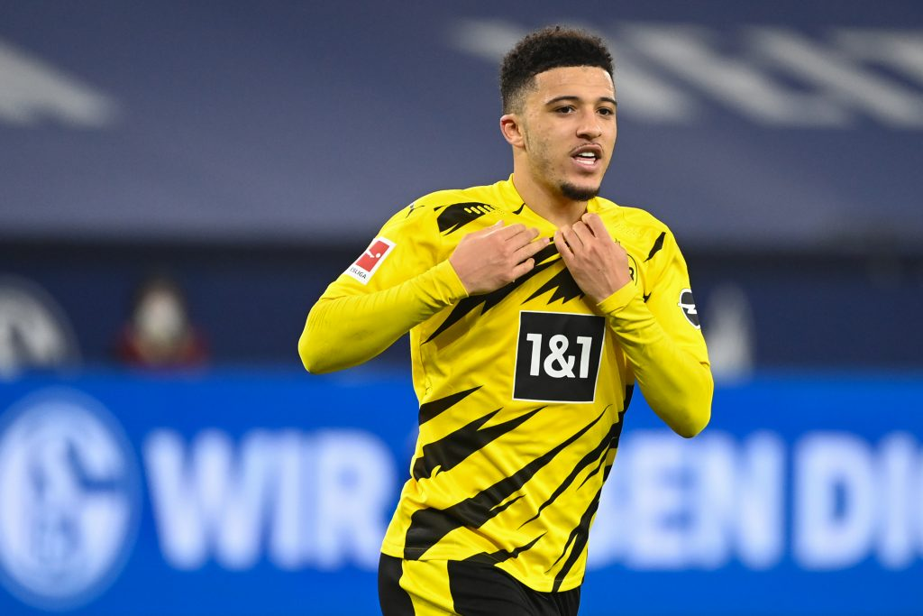 Jadon Sancho is a transfer target for Chelsea and Manchester United