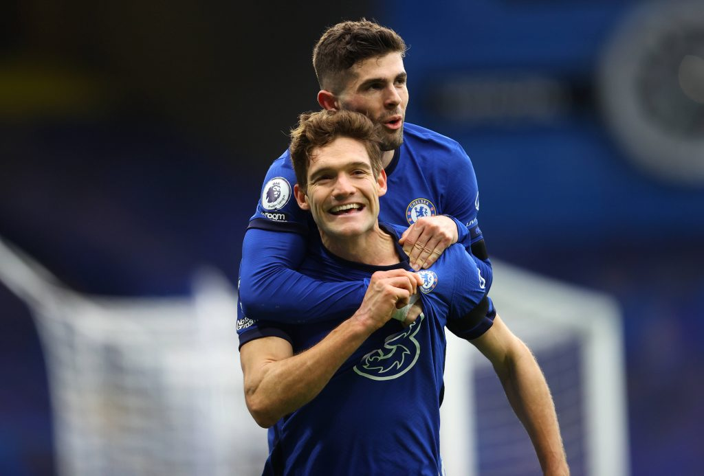 Marcos Alonso suffered for game-time at Chelsea last year but has started all 4 games this year.