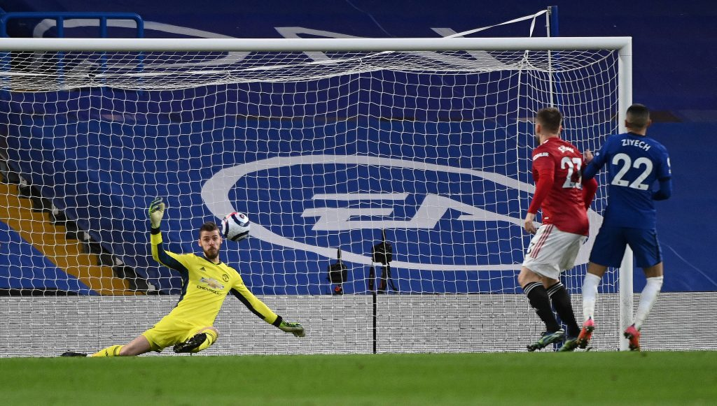 Chelsea were held to a 0-0 draw against Manchester United. (GETTY Images)