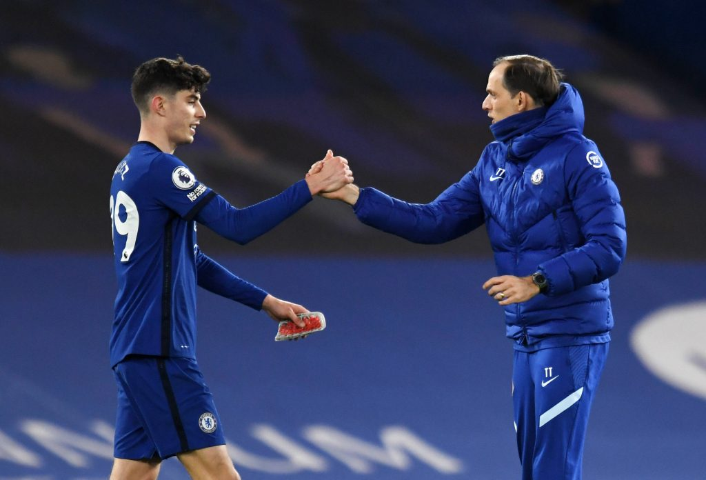 Kai Havertz looked good in the No.9 role for Chelsea against Leeds