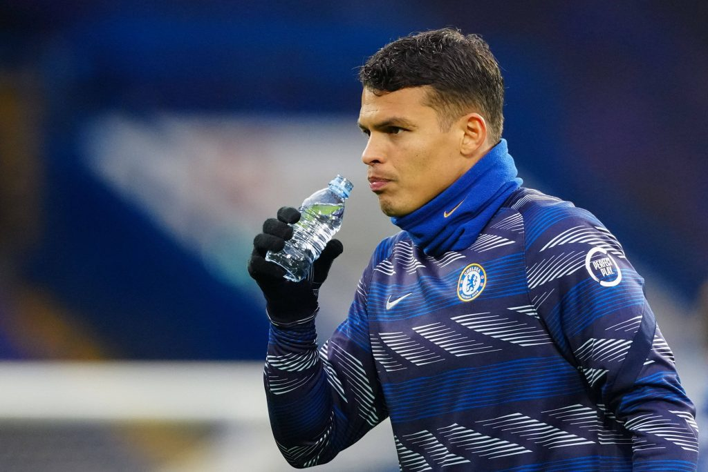 Thiago Silva was left out for Chelsea against Porto in the UEFA Champions League.