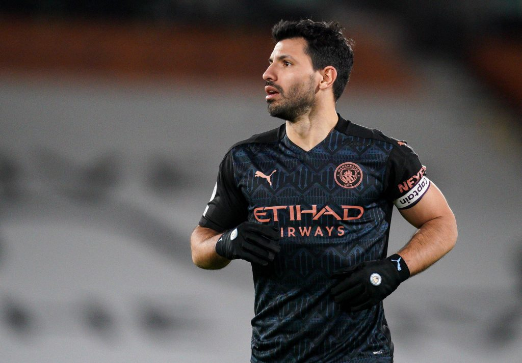 Sergio Aguero of Manchester City is a transfer target for Chelsea, and now, Everton.