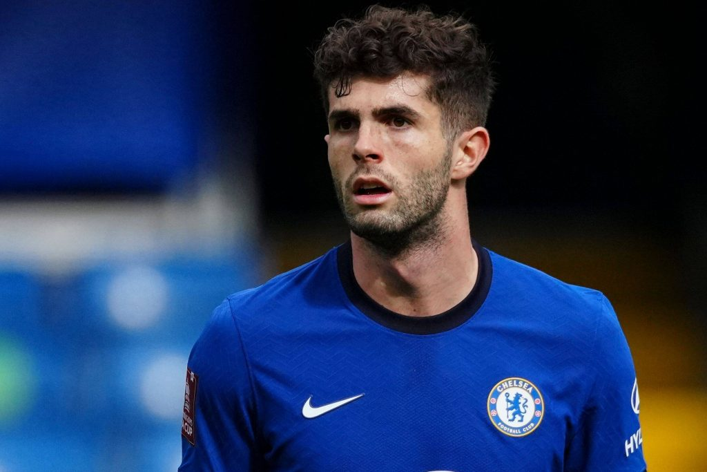 Christian Pulisic was taken off in the 2nd half for Chelsea against West Bromwich Albion as he suffered a hamstring injury scare.