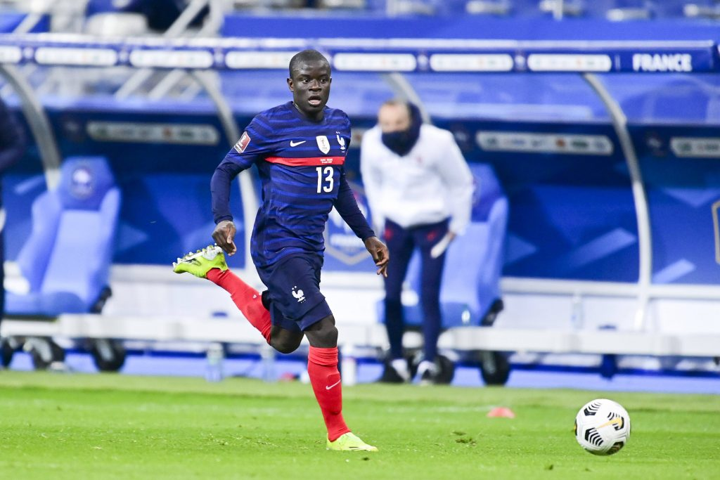 N'Golo in action for France. (imago Images)