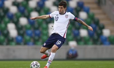 Christian Pulisic has played in both the FIFA World Cup qualifier matches for the USA during this international break. (imago Images)