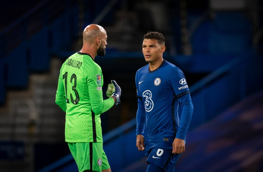 Thiago Silva and Willy Caballero were to be affected by the CONMEBOL ruling of South American qualifiers for the FIFA World Cup. (imago Images)