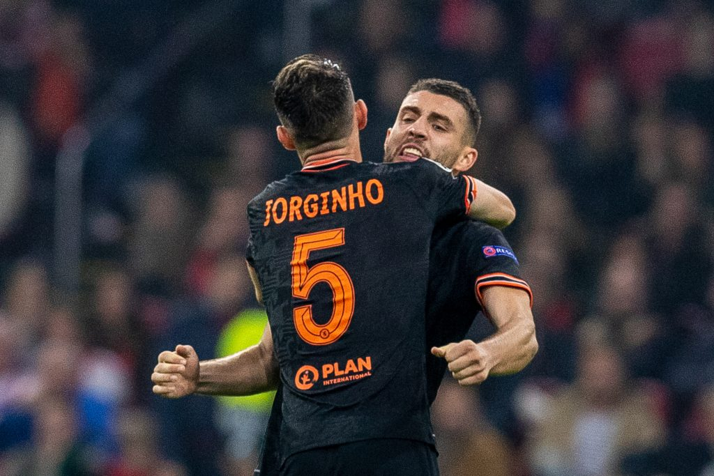 Jorginho and Matteo Kovacic have been played regularly in midfield by Thomas Tuchel. (imago Images)