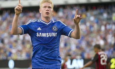 Kevin de Bruyne was at Chelsea before his transfer move to VfL Wolfsburg in 2014.)