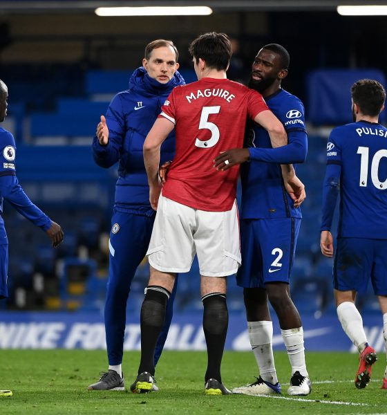 A 0-0 draw against Manchester United meant Chelsea are left one point behind West Ham United in 5th position. (GETTY Images)