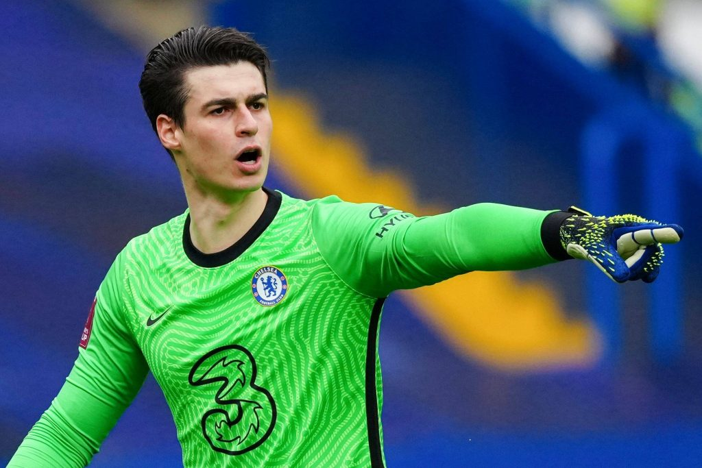 Kepa Arrizabalaga won over the fans with a clean sheet against Sheffield United in the FA Cup quarter final win.