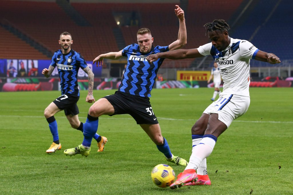 Skriniar is in talks over a new deal at Inter Milan. (imago Images)