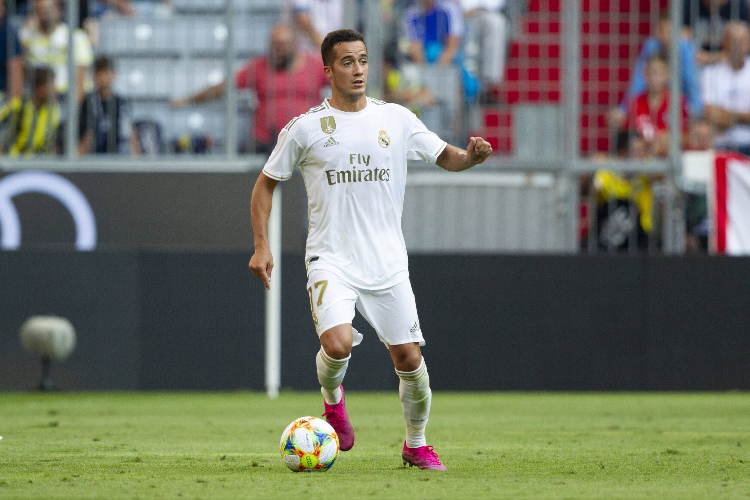 Lucas Vazquez is in the final few weeks of his contract with Real Madrid