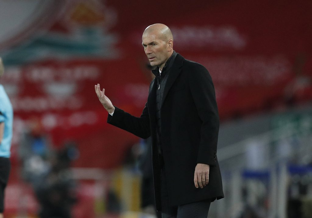 Zidane's Real Madrid will travel to Chelsea next week for the UCL semi-final second-leg tie