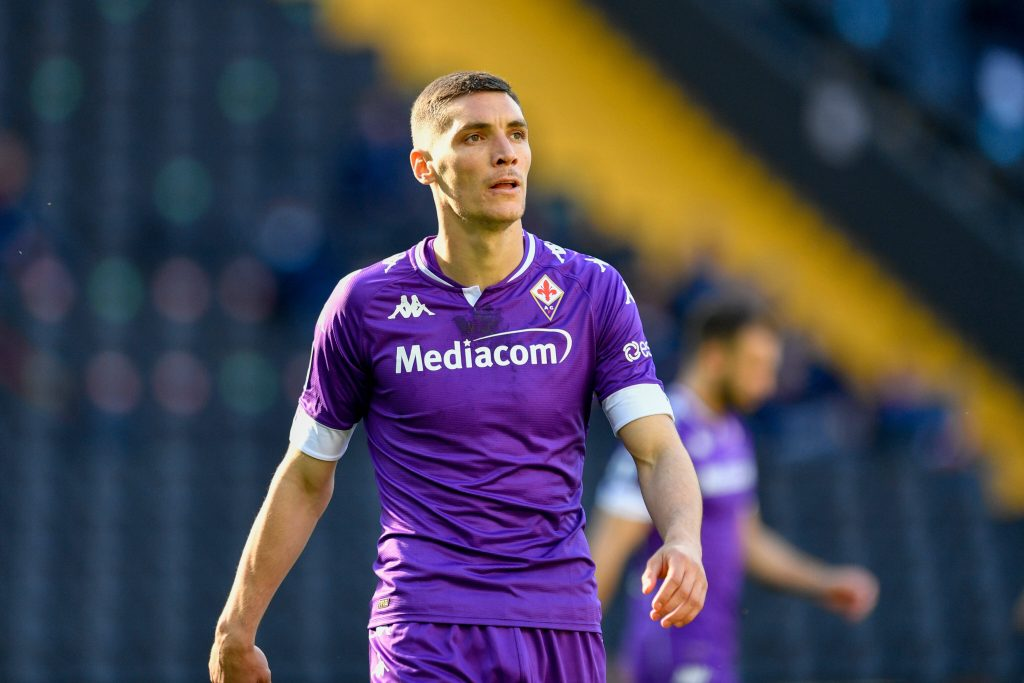 Nikola Milenkovic in action for Fiorentina. (imago Images)
