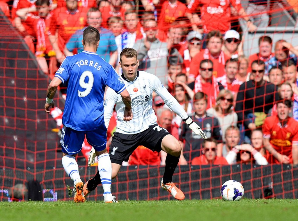 Fernando Torres assisted the second goal in that game as Willian scored past Simon Mignolet. (imago Images)