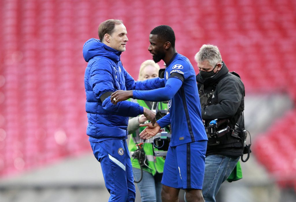 Rudiger was brought back by Tuchel