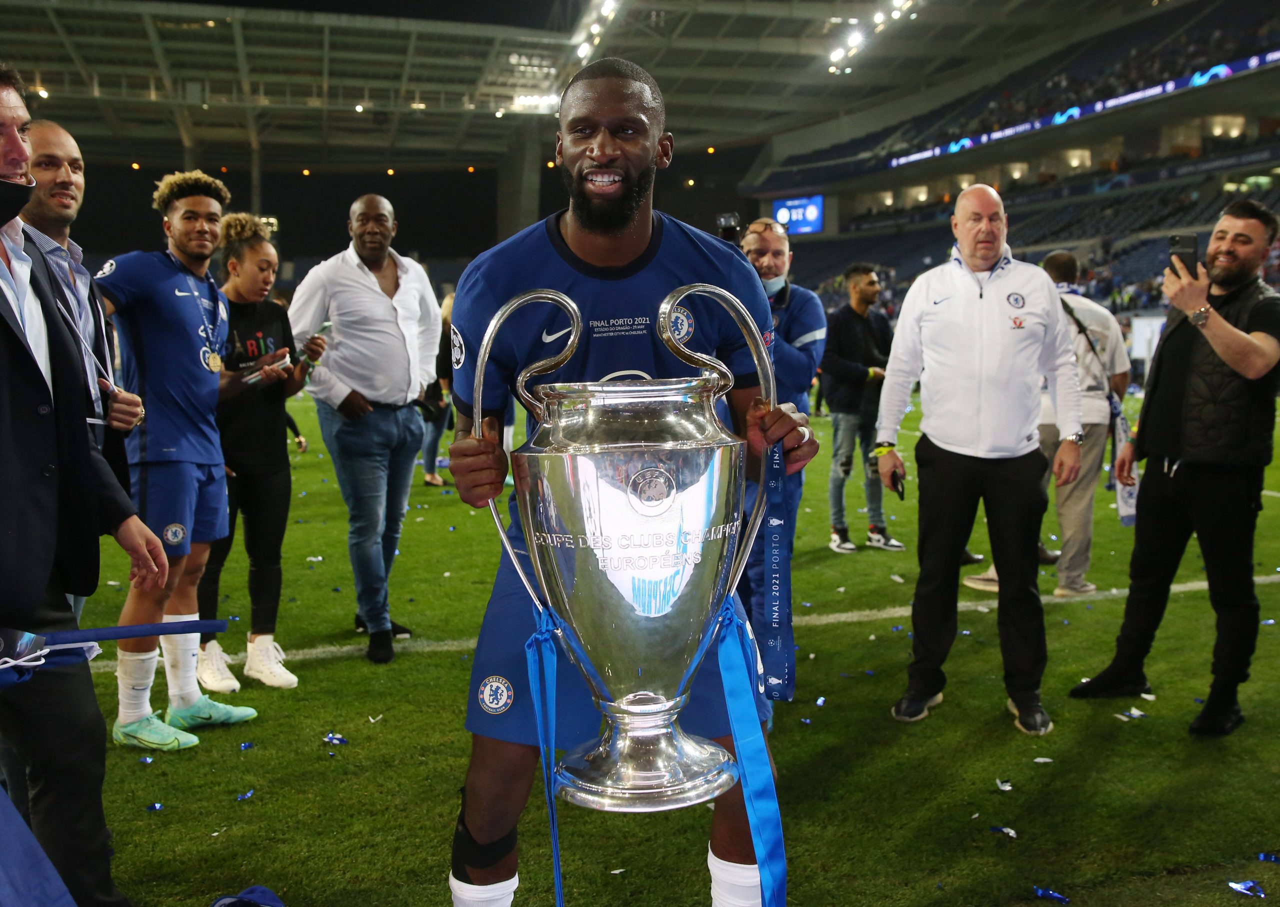 Antonio Rudiger played a key role in Chelsea's Champions League triumph (imago Images)